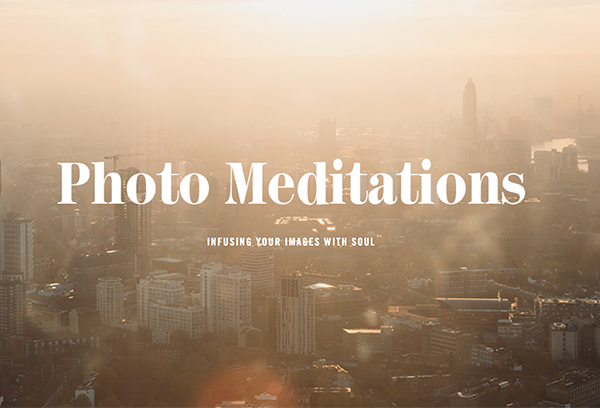 Photo Meditation registration