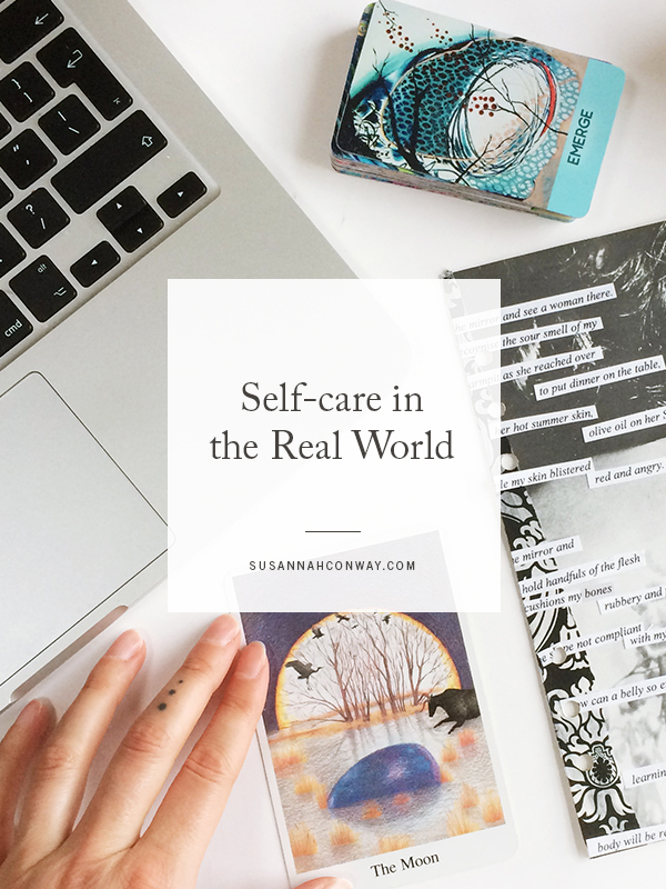 Self-care in the Real World | SusannahConway.com