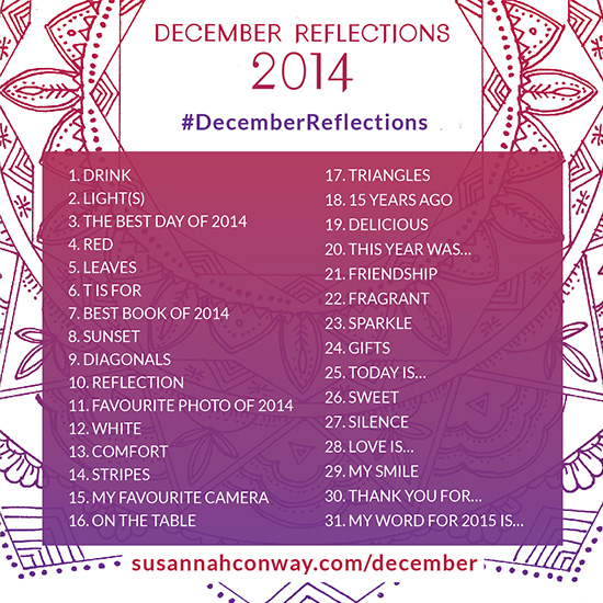 December Reflections | SusannahConway.com