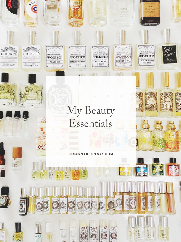 My Beauty Essentials | SusannahConway.com