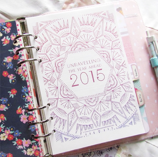Unravelling the Year Ahead workbook | SusannahConway.com