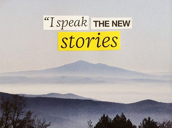 I speak the new stories | SusannahConway.com