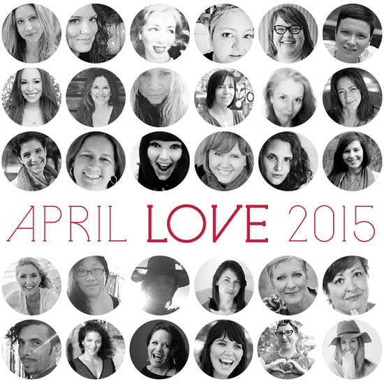 April LOVE contributors | SusannahConway.com