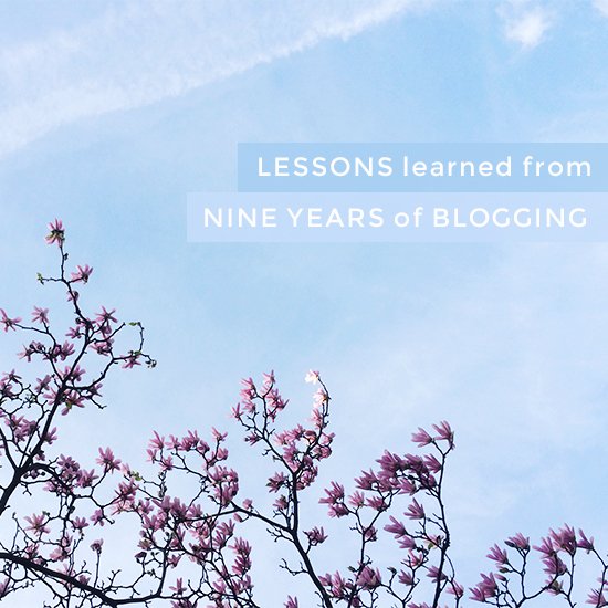 Lessons learned from nine years of blogging | SusannahConway.com