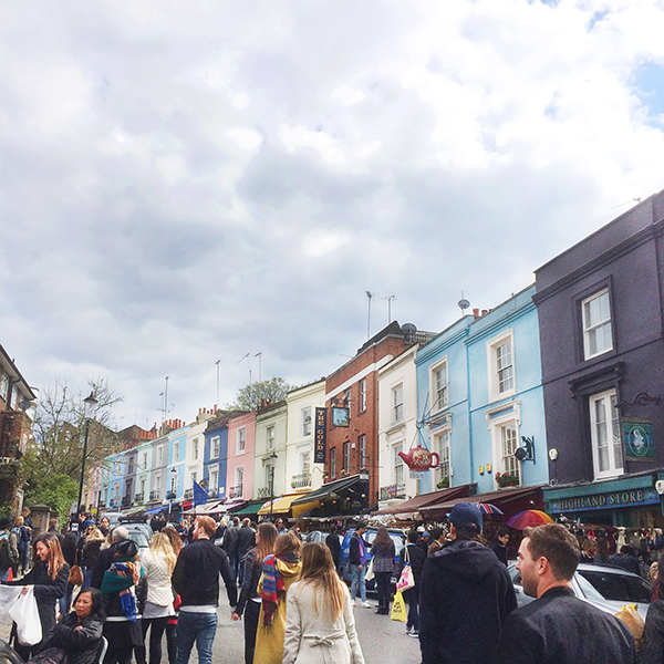 The Saturday chaos of Portobello Market | SusannahConway.com