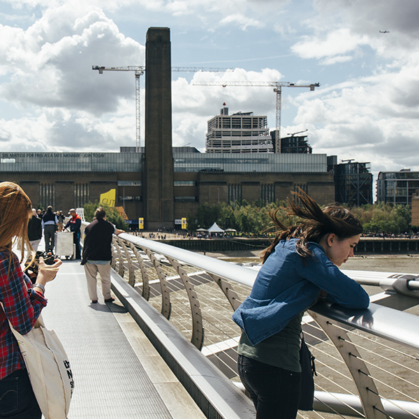 A shot of the Tate Modern from Londontown by Susannah Conway | SusannahConway.com