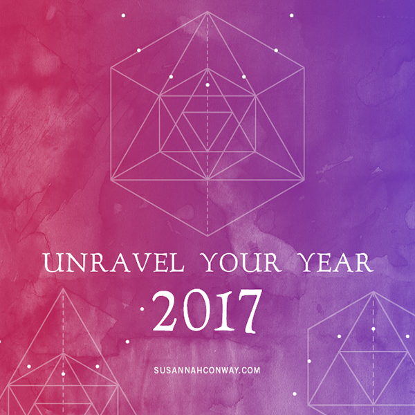 Unravel Your Year 2017 : a free workbook on SusannahConway.com